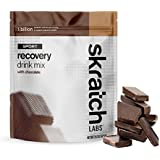 Skratch Labs: NEW Sport Recovery Drink Mix with Chocolate, 12 serving resealable bag (with complete milk protein of casein and whey and probiotics)