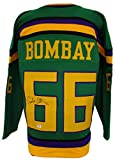 Emilio Estevez Signed Gordon Bombay Mighty Ducks Hockey Jersey PSA