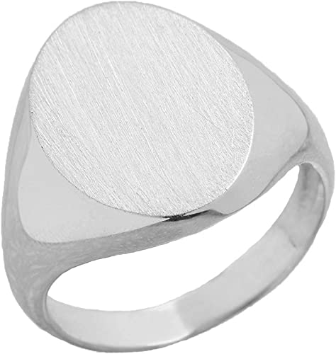 Ring Size 7 Square .925 Sterling Silver Ring Setting 10mm - 14mm