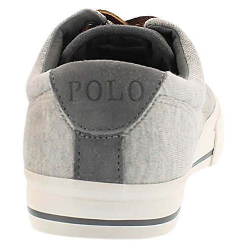 Polo Från Ralph Lauren Manar Vaughn Spets-up Mode Sneaker Grå