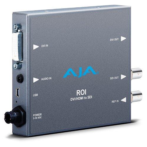 Aja Sdi Converter (AJA ROI-DVI DVI to 3G-SDI Mini Converter with Region of Interest (ROI) Scaling)