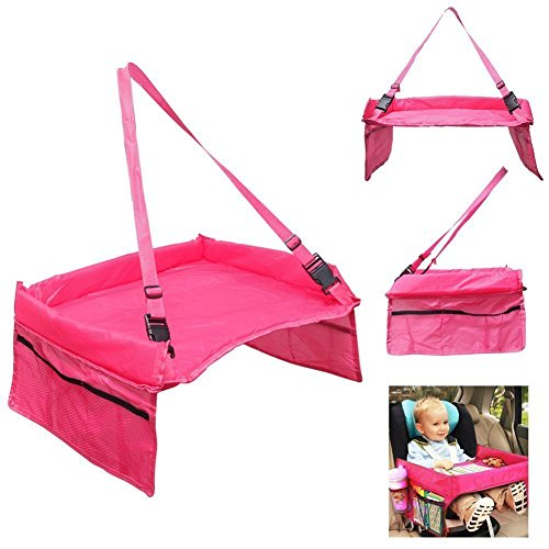 Crown Race Cutter - mk. park - New Baby Car Safety Seat Lap Tray Portable Table For Kids Travel Playing (Pink)
