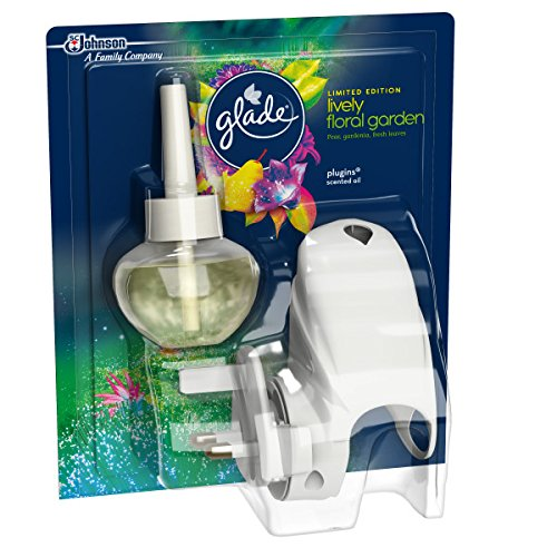 Glade Lively Floral Garden Plug in Electric Air Freshener, 20 ml SC Johnson Ltd. 699402