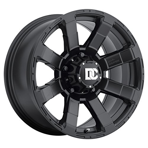 Dick Cepek DC Matrix Wheel with Matte Black Finish (17x9