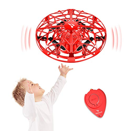 affordable SNAPTAIN Hand Operated Drone for Kids or Adults, Flying Toys Mini Drones with 3D Flips,Circle Flight, Throw'n Go, 2 Speed Adjustment and One Key Takeoff/Landing