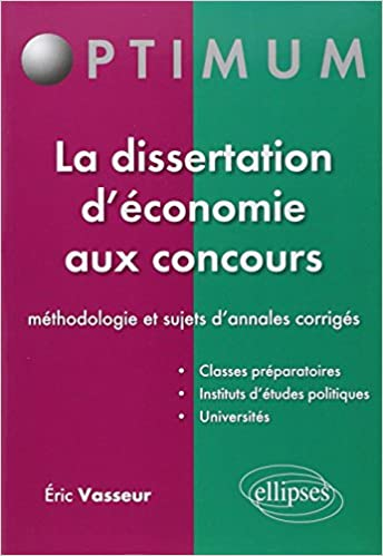 sujet dissertation concours sog