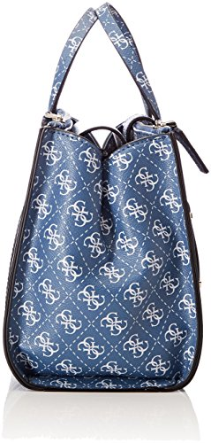 Guess Damen Bags Hobo Shopper, Blau (Blue), 17x21x28 centimeters
