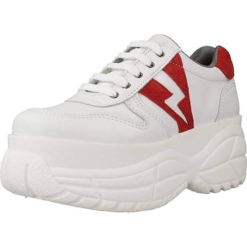 Calzado Deportivo para Mujer, Color Blanco, Marca YELLOW, Modelo Calzado Deportivo para Mujer YELLOW Love ME Blanco: Amazon.es: Zapatos y complementos