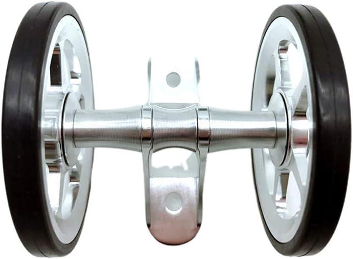 Parafango doppio per bicicletta pieghevole Nero per Brompton Cicony Easy Wheels Taglia unica