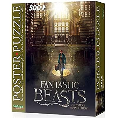 Wrebbit Wpp 5005 Puzzle Poster Fantastic Beasts Mac 500 Pezzi