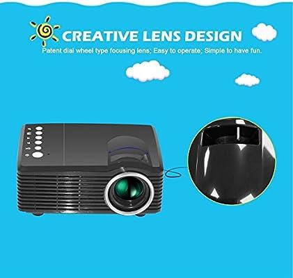 Rosepoem 4K 3D 1080P Proyector Hd Mini Proyector De Cine En Casa ...
