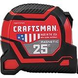 CRAFTSMAN Tape Measure 25-Foot, Magnetic