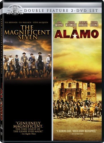 The Magnificent Seven / The Alamo (Double Feature) from Mgm (Lasers)