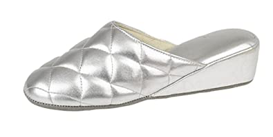 86c7d29ab17c5 Image Unavailable. Image not available for. Colour  Ladies Dunlop wedge  heel mule ...
