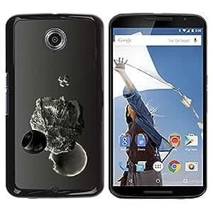 Be Good Phone Accessory // Dura Cáscara cubierta Protectora Caso Carcasa Funda de Protección para Motorola NEXUS 6 / X / Moto X Pro // Abstract Drop