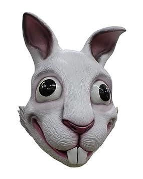 Horror-Shop Máscara de Conejo Loco