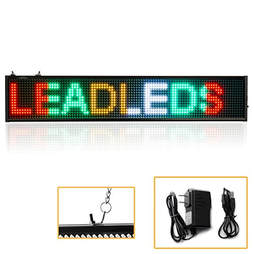 Leadleds Programmable Scrolling Decoration Christmas product image