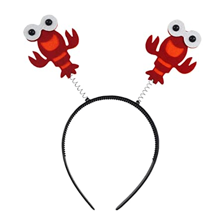 Lobster Headband Head Boppers Band para Cabello Aragosta Disfraz ...