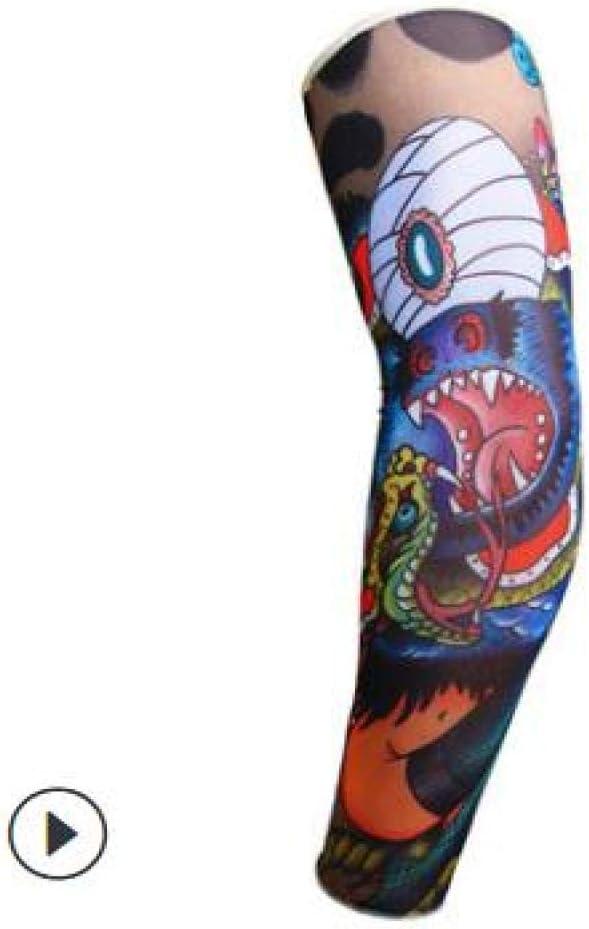 Doudoucc Ciclismo al Aire Libre Tatuaje en 3D Impreso Mangas de ...