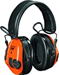 10. 3M Peltor WS Tactical Sport Communications Headset, 20 dB Noise Reduction, Orange/Green
