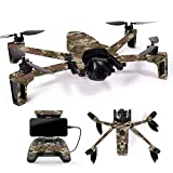 MightySkins Skin for Parrot Anafi Drone - Urban Camo | Protective, Durable, and Unique Vinyl Decal wrap Cover | Easy to Apply, Remove, and Change Styles | Made in The USA