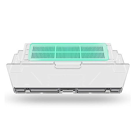 Dailyinshop Xiaomi 2pcs / Set Robot Filtro de vacío Xiaomi Robot Aspirador Partes HEPA Filtros Filtros