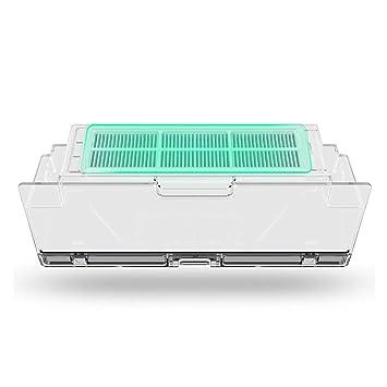 Dailyinshop Xiaomi 2pcs / Set Robot Filtro de vacío Xiaomi Robot Aspirador Partes HEPA Filtros Filtros Originales Reemplazos (Color: Blanco): Amazon.es: ...
