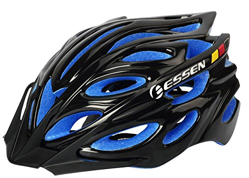 E ESSEN Adult Cycling Helmet with Lid Adjustable for BMX ...