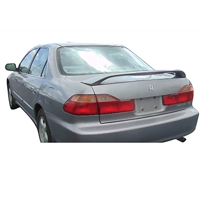 Amazon.com: Trunk Spoiler Fits 1998-2002 Honda Accord | OE Style Unpainted Black ABS Added On Rear Deck Lip Wing Bodykits by IKON MOTORSPORTS | 1999 2000 ...