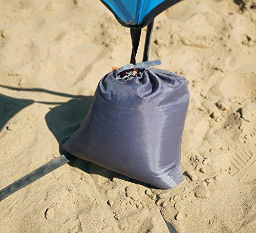 TuTu Outdoor Easy Up Canopy Tent with Sand Bags - Super Big Sun Shade Tarp and Lightweight Beach ... & Outdoor Easy Up Canopy Tent with Sand Bags - Super Big Sun Shade ...