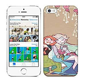 Best Power(Tm) HD Colorful Painted Watercolor Storge Love Of Family Hard Phone Case For Iphone 5/5S