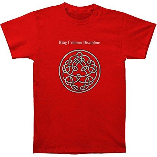 King Crimson Men's Discipline T-shirt Red
