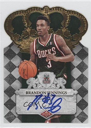 Brandon Jennings #34/399 (Basketball Card) 2009-10 Crown Royale - [Base] #102