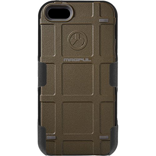 Magpul Industries iPhone 5/5s and iPhone SE MAG454-ODG Bump Case & EGO Tactical Swivel Belt Clip Holster Combo Kit (Olive Drab Green) (Magpul Industries Iphone 5 5s Bump Case)