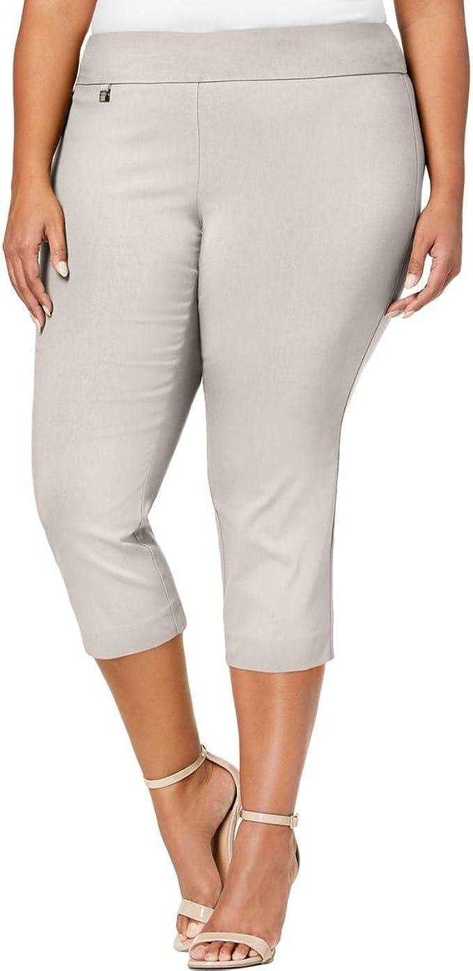 Alfani Womens Mid-Rise Comfort Waist Office Skinny Pants Plus BHFO 9843