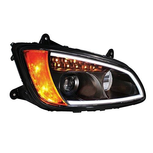 Blackout Kenworth T660 Projection Headlight Assembly - Passenger
