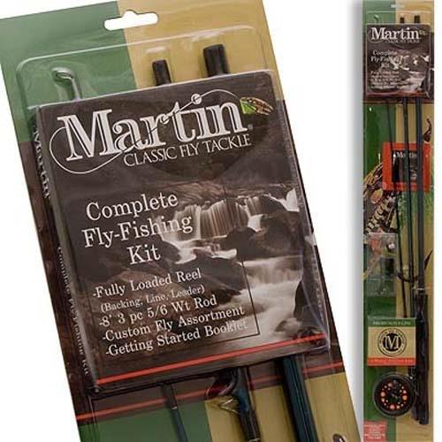 Price comparison product image Generic Zebco Sales Co. LLC ZEB-MRT56TK-6L-BP6 Martin Complete Fly Rod Kit