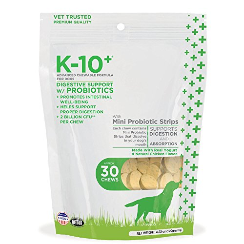Cheapest K-10+ Digestion guidance thru Probiotic complex Chewable Formula for Dogs (Pack of 30) Check this out.