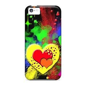 Unique Design Iphone 5c Durable Tpu Case Cover New Love