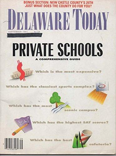Delaware Today Magazine, September 1991 (Vol 30, No 9)