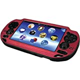 CTA Digital PS Vita Metallic Faceplate Plastic Case (Pink)
