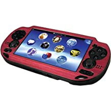 PS Vita Metallic Faceplate Plastic Case - Pink - PlayStation Portable Standard Edition