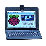 Allpartz 10.1 inch 1024x600 Raspberry Pi Display