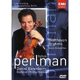 Itzhak Perlman: Brahms/Beethoven Violin Concertos [DVD] [Import]