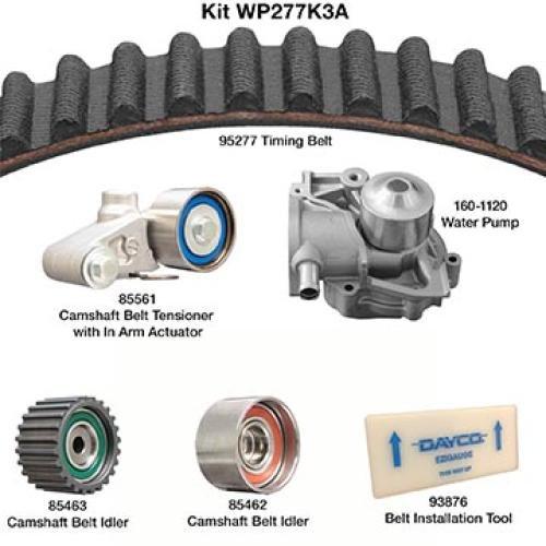 Dayco WP277K3A Water Pump Kit