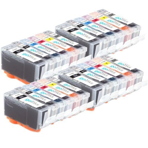 66 opinioni per 4 Set di 6 Compatibile Canon PGI-525 e CLI-526 cartucce d'inchiostro (24