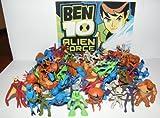 Ben 10 Alien Force Mega Set Playset of 50 Alien Toy Figures Party Favors with Bonus Ben 10 Figure and Wristband!