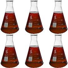 1000ml Narrow Mouth Erlenmeyer Flask, 3.3 Borosilicate Glass, Graduated