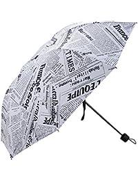 Umbrella Mini Lightweight Fashion Folding Travel Compact Manual Portable Windproof Rain sunscreen fabric Umbrella for Girls