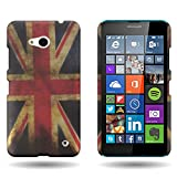 CoverON® for Microsoft Lumia 640 Hard Design Case [Slender Fit Series] Slim Polycarbonate Back Phone Cover - (...